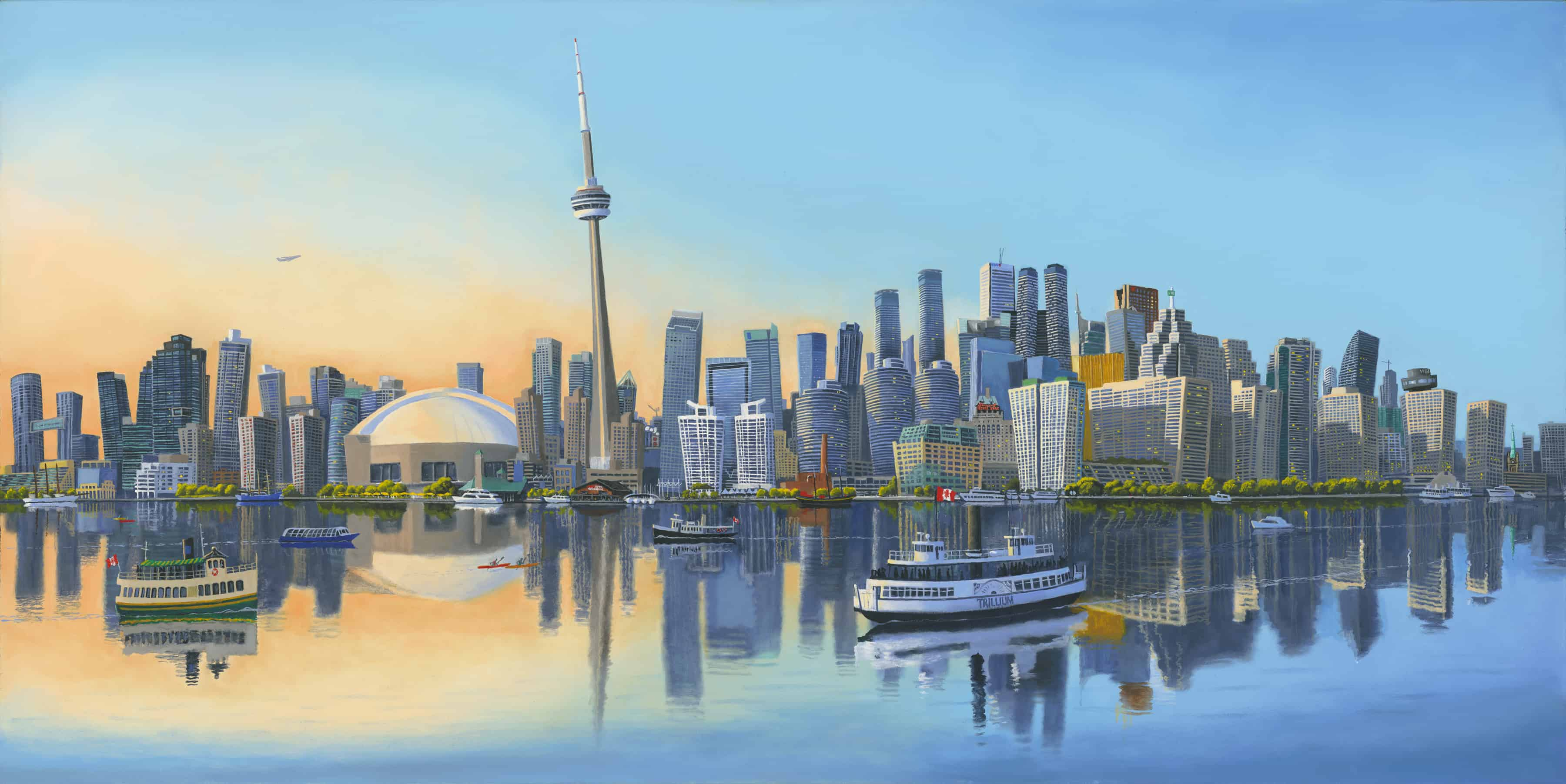 Toronto Skyline by Robert Johnson