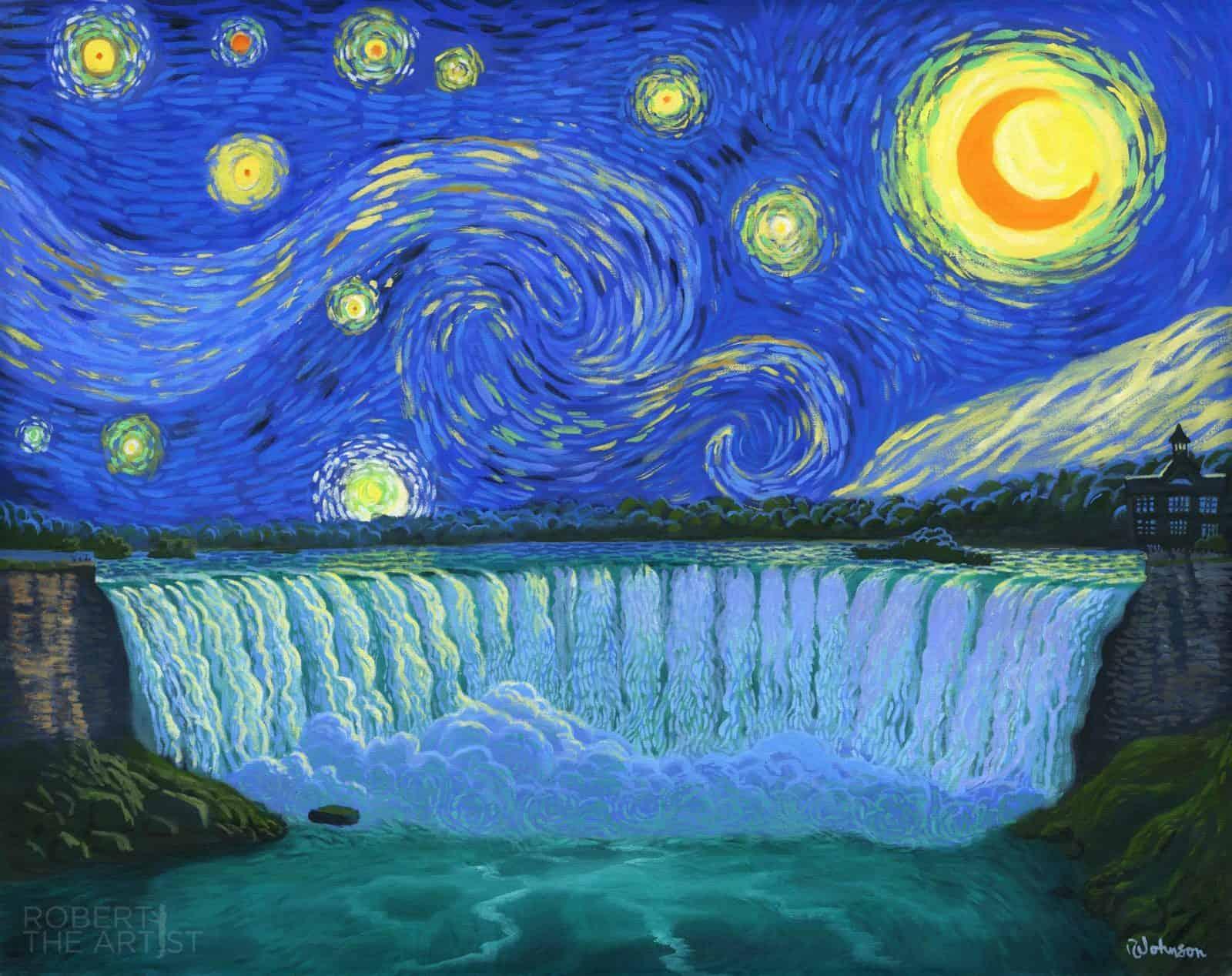 Starry Niagara Falls