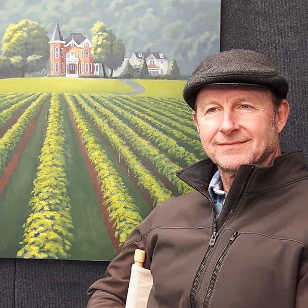 Robert Johnson, Contemporary Painter and Artist