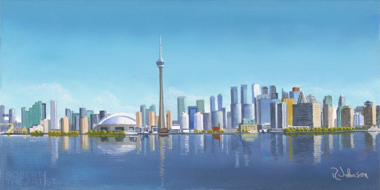 Toronto Skyline Day View