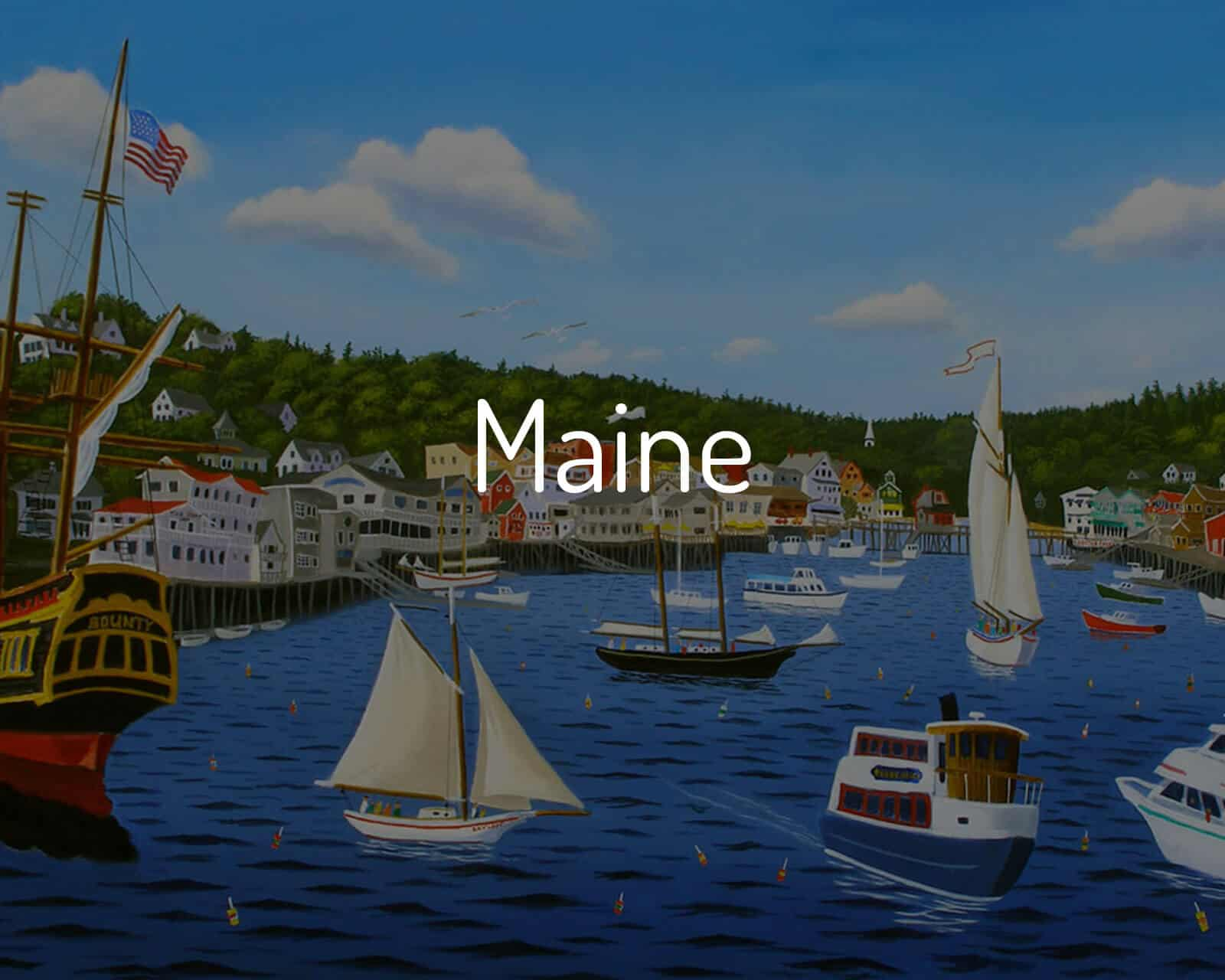 Shop Maine Paintings