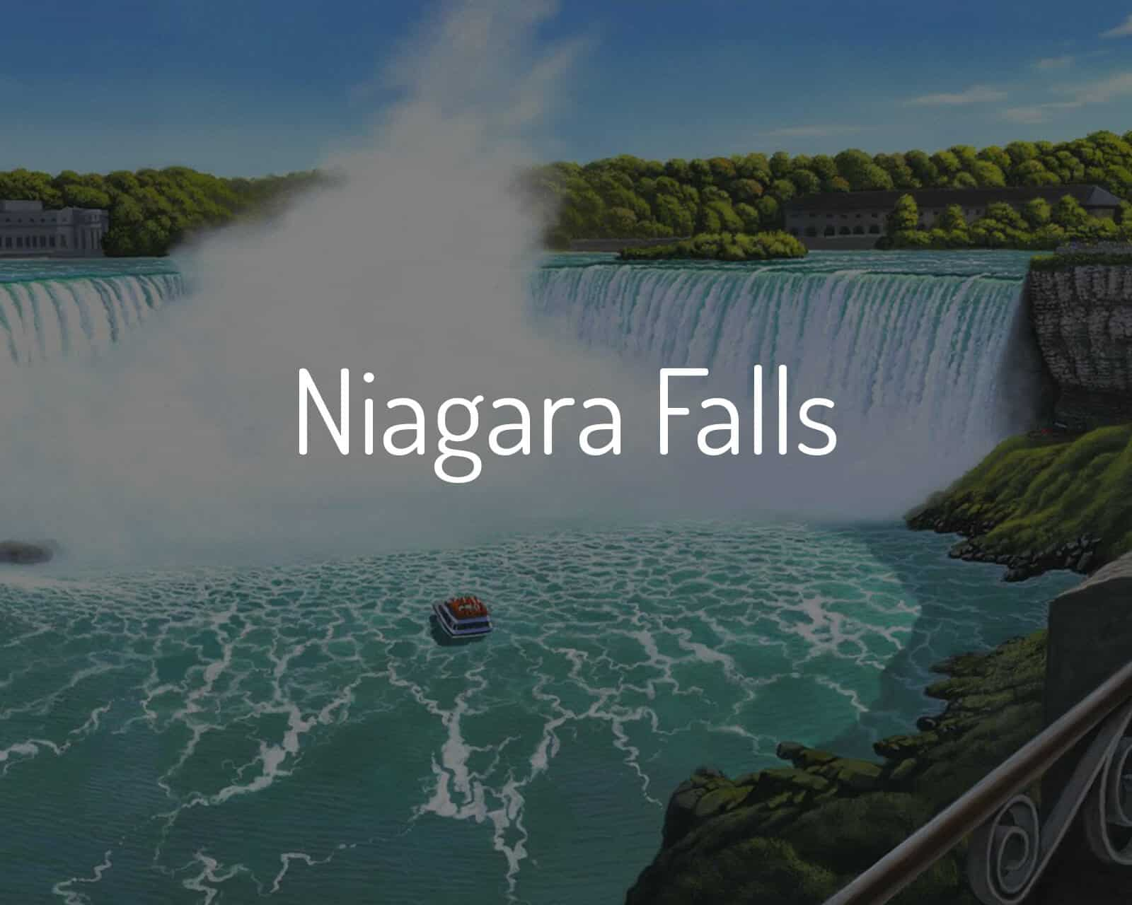 Shop Niagara Falls Paintings
