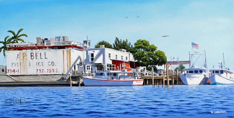AP Bell Fish Co in Cortez Village Florida